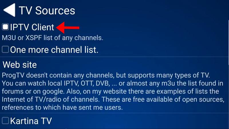 ProgTV iptv guide