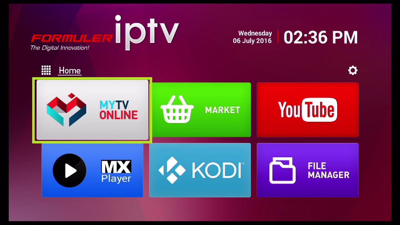 How to setup MainIPTV on MYTV Online - Formuler Z+