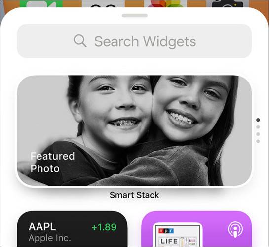 iOS 14 Widgets Library