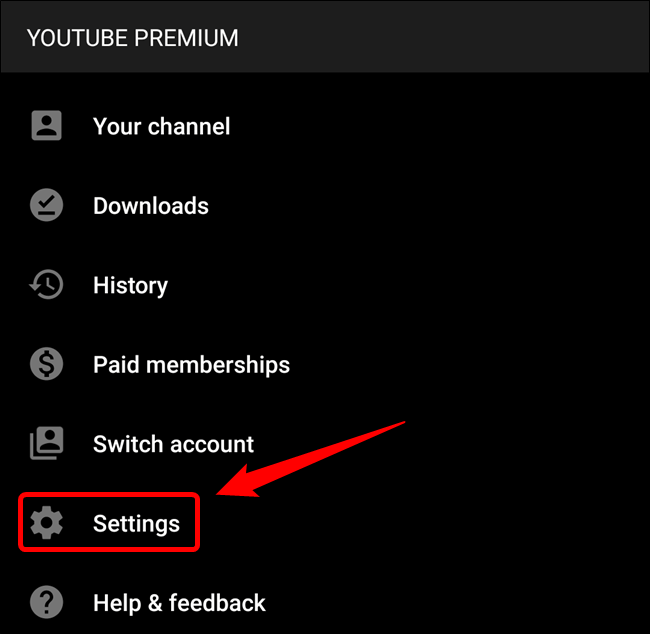 "Tap the ""Settings"" button"