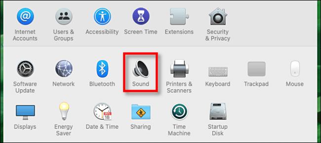 """Click """"Sound."""""""