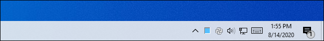 High CPU usage shown in the Task Manager's icon on Windows 10's taskbar.