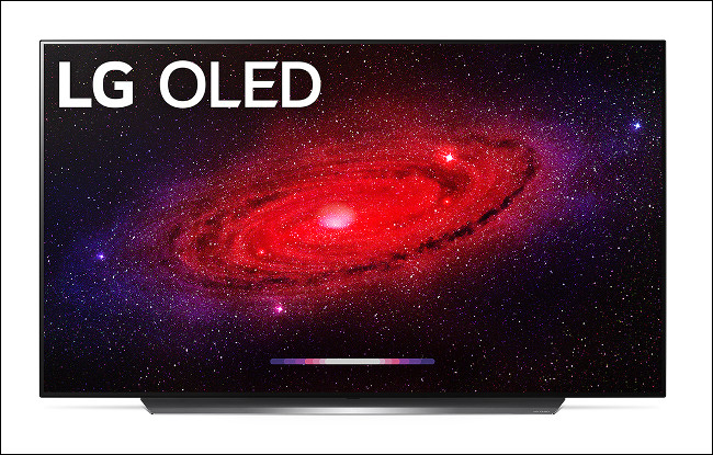 The LG CX OLED 2020 Flagship TV.