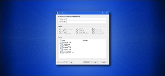 How to Easily Batch Rename Files on Windows 10