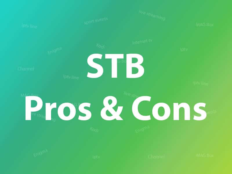 What are the advantages of using STB?