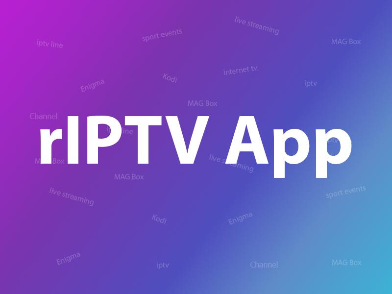 How to setup IPTV on iOS using rIPTV?
